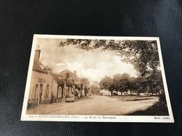 112 - LUGNY CHAMPAGNE (Cher) La Route De Sancergues - France