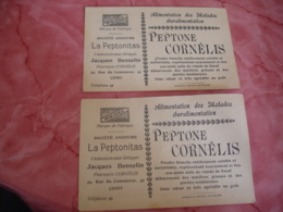 Lot De 2 Pettone Cornelis Jacques Be,selin  Ciney - Health