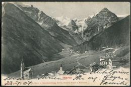 Trafoi - Gesamtansicht 1907 - Italia