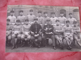 Carte Photo Groupe Militaire - Militaria