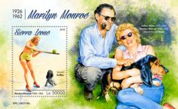 Sierra Leone 2019 Marilyn Monroe  S201903 - Sierra Leone (1961-...)