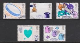 Great Britain 2005 Centenary Of The Magic Circle Set Of 5 Used - - 1952-.... (Elizabeth II)