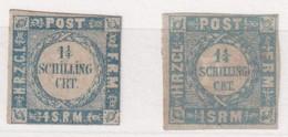 SCHLESWIG-HOLSTEIN    MI N° 5/6 (*)  3ième Choix - Schleswig-Holstein