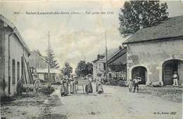 SAINT LAURENT Du JURA-vue Prise Des Crés (état) - Other Municipalities