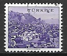 TURQUIE     -     1959 .    Y&T N° 1496 Oblitéré - 1921-... República