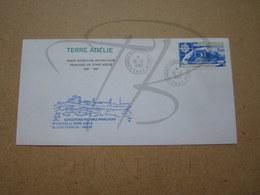 """VEND BEAU TIMBRE DE POSTE AERIENNE DES T.A.A.F. N° 72 SUR LETTRE , """" DUMONT-D'URVILLE-T.ADELIE """" !!! (d) - Airmail"""