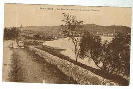 MARTIGUES- Vue Générale Prise De La Route De Marseille - Bon état - Martigues