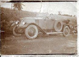 VOITURE RENAULT TORPEDO 1921  .  2 PHOTOS - Cars