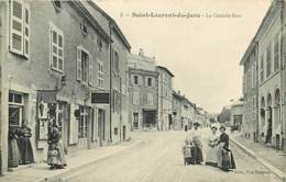 SAINT LAURENT Du JURA-la Grande Rue - France
