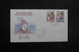 VIÊT-NAM - Enveloppe FDC 1972 , Empereur Quang-Trung - L 33428 - Vietnam