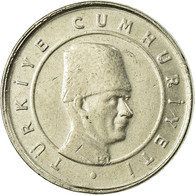 Monnaie, Turquie, 10 New Kurus, 2006, Istanbul, TB+, Copper-Nickel-Zinc, KM:1166 - Turquie
