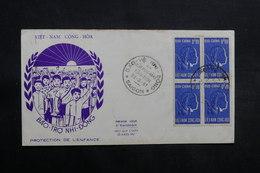 VIÊT-NAM - Enveloppe FDC 1961 , Protection De L 'Enfance - L 33430 - Vietnam
