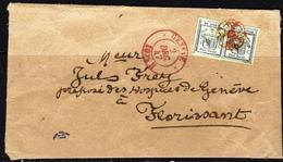 475 - SUISSE - SWITZERLAND - 1847 - GENEVE - COVER - FAUX, FORGERY, FALSE, FALSCH, FALSO - Non Classés