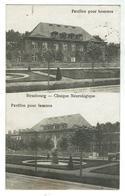 STRASBOURG - Clinique Neurologique- Les Pavillons Hommes Et Femmes - Circulée 1925 - Bon état - Strasbourg