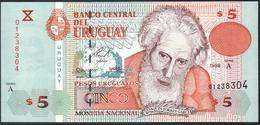 Uruguay 5 Pesos 1998 UNC - Uruguay