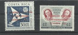 COSTA RICA YVERT AEREO 335/36    MNH  ** - Costa Rica