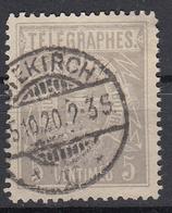 LUXEMBURG - Michel - 1883 - Nr 1 D - Gest/Obl/Us - Télégraphes