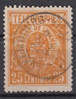 LUXEMBURG - Michel - 1883 - Nr 2 D - Gest/Obl/Us - Télégraphes