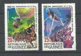 GUINEA  YVERT  AEREO  137/38   MNH  ** - República De Guinea (1958-...)