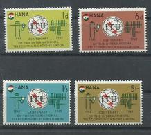 GHANA   YVERT  193/96  MNH  ** - Ghana (1957-...)