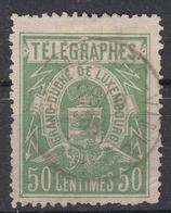 LUXEMBURG - Michel - 1883 - Nr 3 D - Gest/Obl/Us - Télégraphes