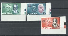 GHANA   YVERT  178/80   (SIN DENTAR)   MNH  ** - Ghana (1957-...)