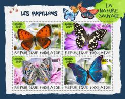 Togo  2019  Fauna Butterflies S201903 - Togo (1960-...)