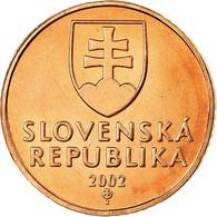 Monnaie, Slovaquie, 50 Halierov, 2002, SUP, Copper Plated Steel, KM:35 - Eslovaquia