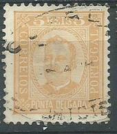 Timbre Ponta Delgada 1897 - Ponta Delgada