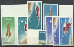 DUBAI YVERT AEREO   40/46   (SIN DENTAR)  MNH  ** - Dubai