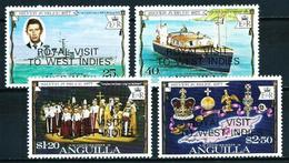 Anguilla Nº 255/8 (sobrecarga) Nuevo - Anguilla (1968-...)