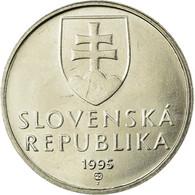 Monnaie, Slovaquie, 5 Koruna, 1995, SUP, Nickel Plated Steel, KM:14 - Slovaquie