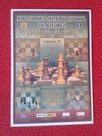 POSTAL POST CARD AJEDREZ CHESS Échecs SCHACH XADREZ XIX TORNEO INTERNACIONAL CIUDAD DE LINARES 2002  SPAIN ESPAÑA VER - Postales