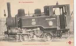 LOCOMOTIVE Servant Pour Le Train à Crémaillère ( LANGRES ) - Trains