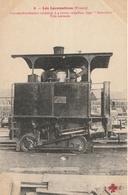 LOCOMOTIVE ( France ) Locomotive Tender Cabestan à 4 Roues Couplées Type Industriel - Trains