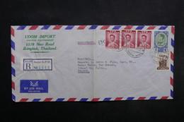 IRAQ - Enveloppe Commerciale En Recommandé De Baghdad Pour La France En 1962, Affranchissement Plaisant - L 33463 - Iraq