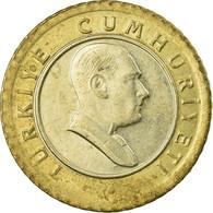 Monnaie, Turquie, 50 New Kurus, 2006, Istanbul, TB+, Bi-Metallic, KM:1168 - Turquie