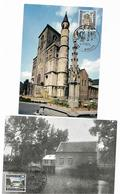 België  Maximumkaarten  N° 1541/1542 - 1961-1970