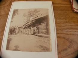 34  - Photo ,INDOCHINE, Groupe D'Enfants Siamois, Indigènes - Oud (voor 1900)