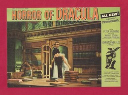 CPM.   Cart'Com.   Horror Of Dracula.   Cinéma.  Centre Pompidou Paris. - Cinema