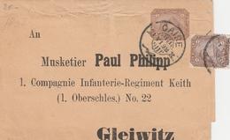 Egypte Bande De Journal Pour La Pologne 1898 - Egypt