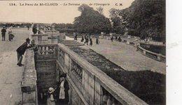 Dept 92,Hauts De Seine,Cpa Saint-Cloud,La Terrasse De L'Orangerie - Saint Cloud