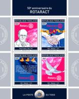 Togo  2019  Rotaract   Rotary International  , Duck Race ,Paul P. Harris S201903 - Togo (1960-...)