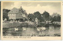 21385 Oldendorf Luhe - Oldendorfer Mühle - Verlag Rud. Reher Hamburg - Posthilfstellenstempel - Allemagne