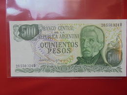 ARGENTINE 500 PESOS 1977-82 PEU CIRCULER/NEUF - Argentine