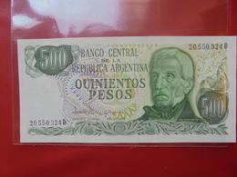 ARGENTINE 500 PESOS 1977-82 PEU CIRCULER/NEUF - Argentina