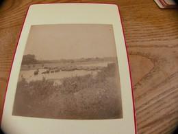 41  - Photo ,INDOCHINE, Troupeau D'Eléphants Aux Bains - Oud (voor 1900)