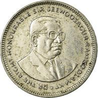 Monnaie, Mauritius, 20 Cents, 1990, TB+, Nickel Plated Steel, KM:53 - Maurice