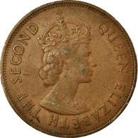 Monnaie, Mauritius, Elizabeth II, 5 Cents, 1978, TB+, Bronze, KM:34 - Mauritius