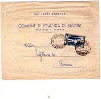 ITALIA  Repubblica Biglietto Postale   Cent. 15 Lavoro - 1946-60: Marcophilia